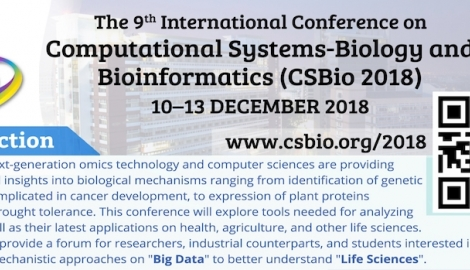 The 9th International Conference on Computational Systems-Biology and Bioinformatics
